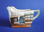 Early Royal Doulton 'Mr Micawber' Dickens Series 'A' Friar Milk Jug D2973 c1910